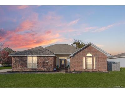 Haughton Single Family Home For Sale: 7508 Pecanwood Court