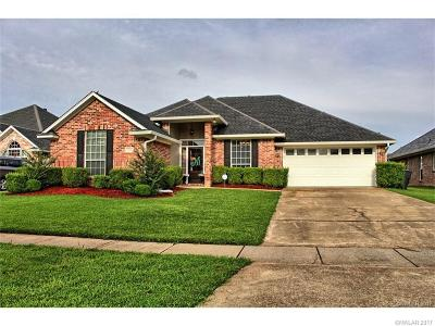 Bossier City Single Family Home For Sale: 2204 Washburn Way