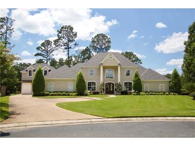 Shreveport Single Family Home For Sale: 11872 Longfellow Trace
