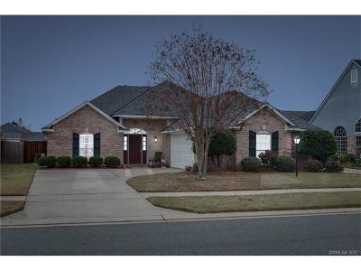 Bossier City LA Single Family Home For Sale: $194,900