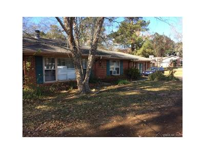 Haughton Single Family Home For Sale: 1498 Bellevue Road