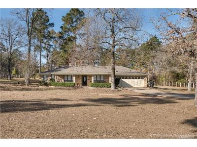 Haughton Single Family Home For Sale: 9761 Highway 157