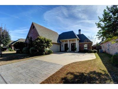 Bossier City Single Family Home For Sale: 513 Toulouse Court