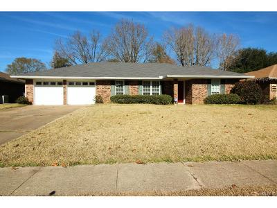 Bossier City Single Family Home For Sale: 6003 Tracy Lane