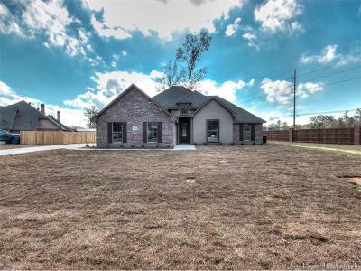 Haughton Single Family Home For Sale: 1100 Bear Creek Drive
