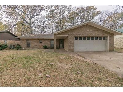 Haughton Single Family Home For Sale: 205 Mill Creek Lane