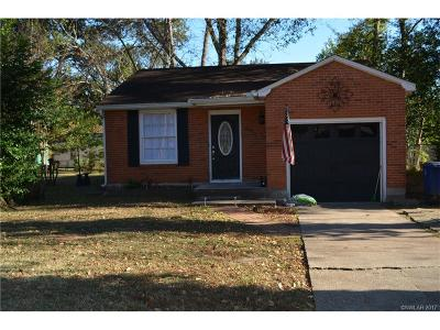Shreveport LA Single Family Home For Sale: $115,000