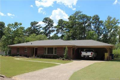 Minden Single Family Home For Sale: 1115 Louisiana Avenue