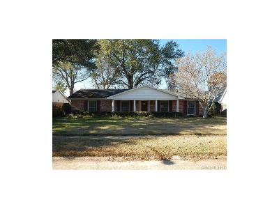 Shreveport LA Single Family Home For Sale: $212,000