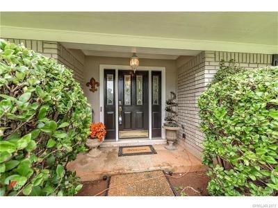 Bossier City Single Family Home Contingent: 504 Parklane Drive