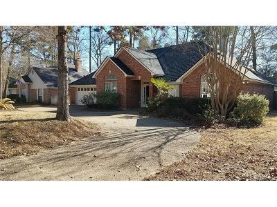 Benton Single Family Home For Sale: 107 Hilton Head Drive