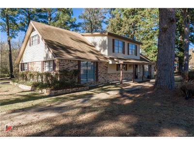 Shreveport Single Family Home For Sale: 1034 N Lane Drive