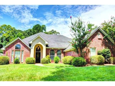 Haughton Single Family Home For Sale: 151 Dogwood South Lane