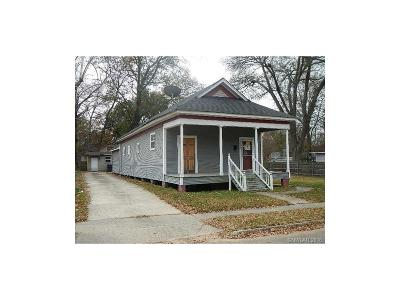 Shreveport Single Family Home For Sale: 1035 Eustis Street