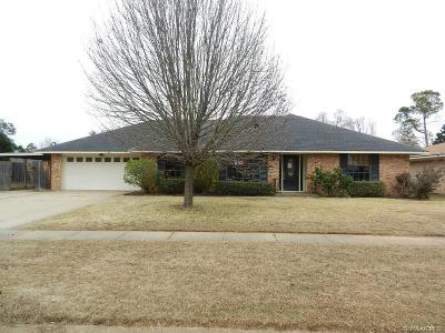 Shreveport LA Single Family Home For Sale: $135,000