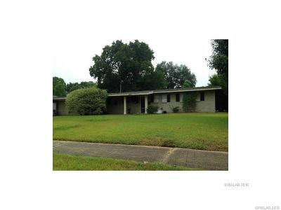Bossier City Single Family Home For Sale: 2503 Ashland