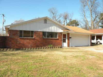 Bossier City Single Family Home For Sale: 4018 Glen Street