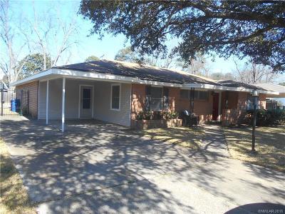 Shreveport LA Single Family Home For Sale: $189,900