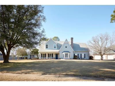 Bossier City Single Family Home For Sale: 10 Dover Circle