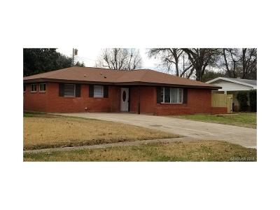 Bossier City Single Family Home For Sale: 1620 Patricia Drive