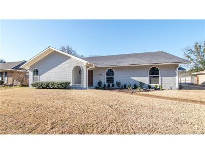 University Terrace, University Terrace South Single Family Home For Sale: 7500 Camelback Drive