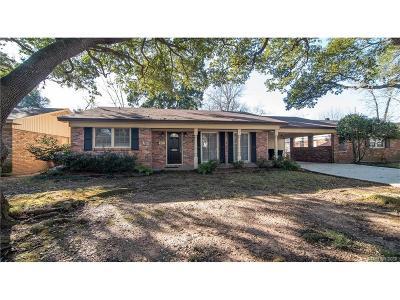 Shreveport LA Single Family Home For Sale: $159,900