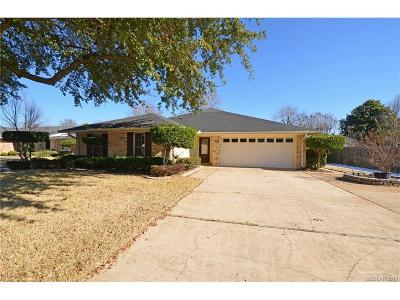 Bossier City Single Family Home For Sale: 105 Greenbriar Drive