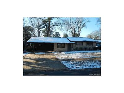 Shreveport LA Single Family Home For Sale: $71,000