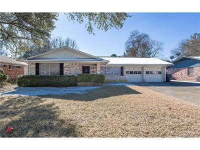 Bossier City Single Family Home For Sale: 2312 Melrose Drive