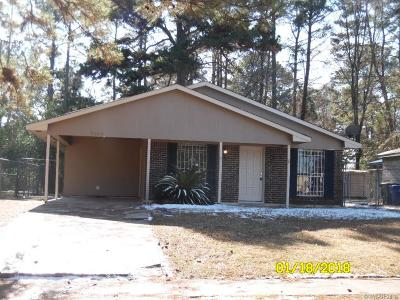 Shreveport Single Family Home For Sale: 9368 Wardlow Drive