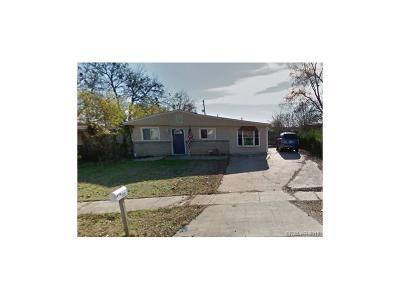 Bossier City LA Single Family Home For Sale: $114,000