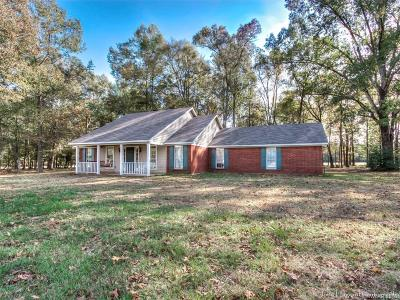 Benton Single Family Home For Sale: 1928 Old Plain Dealing Road