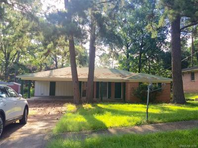 Shreveport Single Family Home For Sale: 2601 Ridge Lake Drive