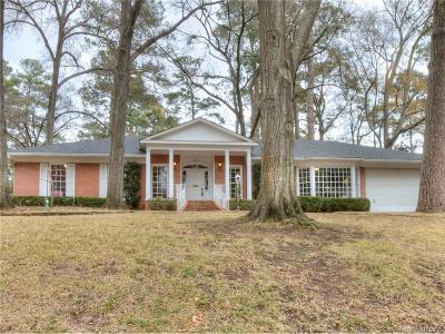 Shreveport Single Family Home For Sale: 4719 Richmond