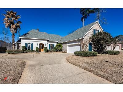 Shreveport Single Family Home For Sale: 10015 Saint Bernard Drive