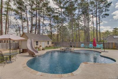 Haughton Single Family Home For Sale: 803 Grey Fox