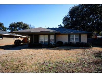 Bossier City Single Family Home For Sale: 2212 Wakefield Avenue