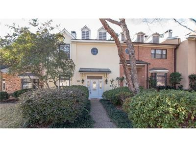 Shreveport Condo/Townhouse For Sale: 939 Southfield Road