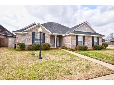 Bossier City Single Family Home For Sale: 121 Rosemont Place