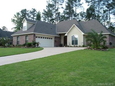 Haughton Single Family Home For Sale: 805 Grey Fox