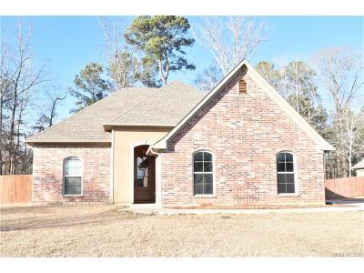 Haughton Single Family Home For Sale: 1101 Bear Creek Drive