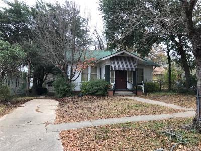 Shreveport LA Single Family Home For Sale: $59,900