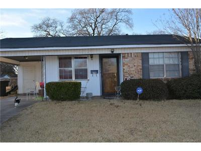 Bossier City Single Family Home For Sale: 3127 Malvern Street
