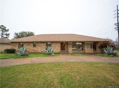 Bossier City Single Family Home For Sale: 409 Plaza Circle