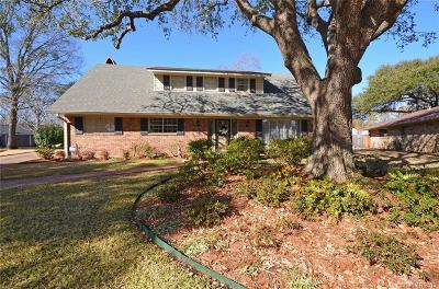 Shreveport Single Family Home For Sale: 1512 Carmel Drive