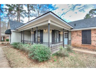 Haughton Single Family Home For Sale: 114 Woodcrest Drive