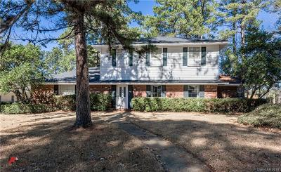 Shreveport Single Family Home For Sale: 709 Cobblestone Drive
