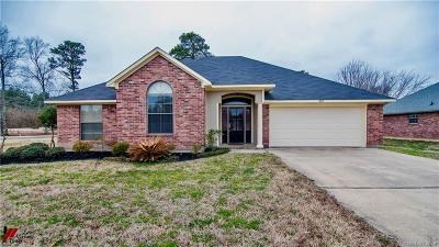 Shreveport Single Family Home For Sale: 3812 Hideaway Circle