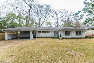 Shreveport Single Family Home For Sale: 732 Oak Hill Drive