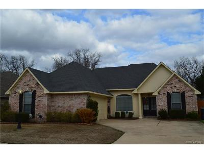 Bossier City Single Family Home For Sale: 132 Rosemont Place #4